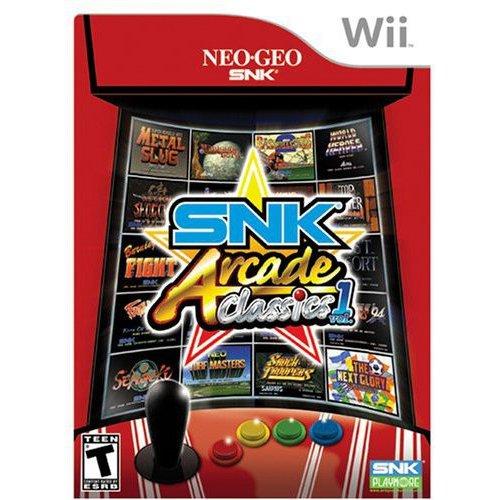 Nintendo Snk Arcade Classics V1 Wii Walmart