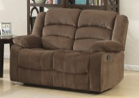Bill Brown Contemporary Living Room Reclining Love Seat ...