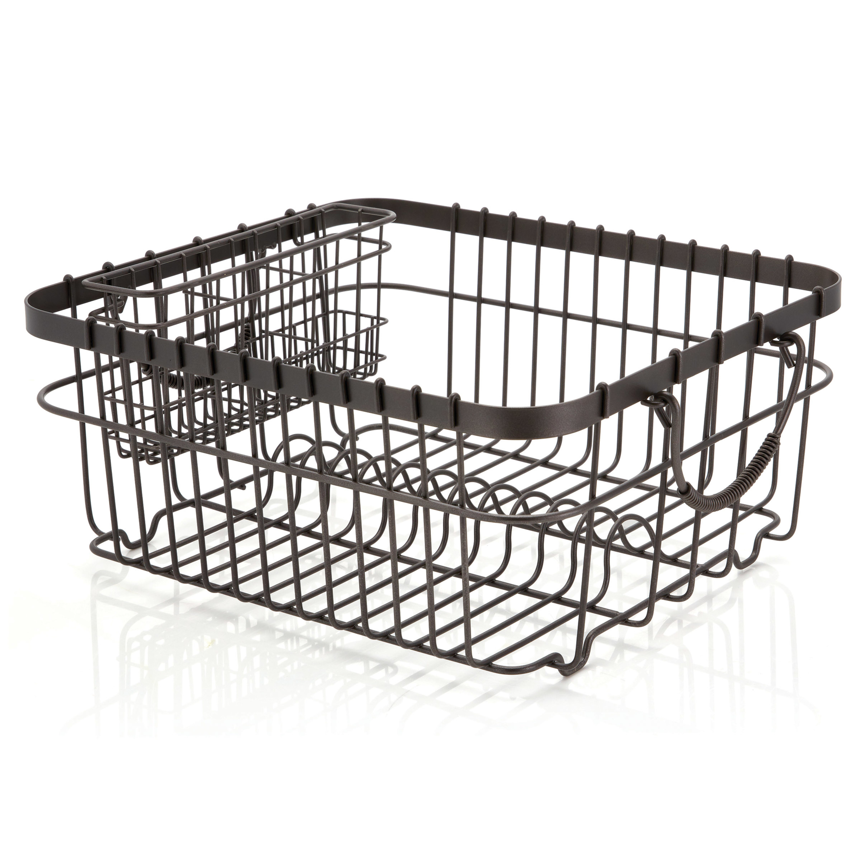 better homes gardens antique gray wire dish rack