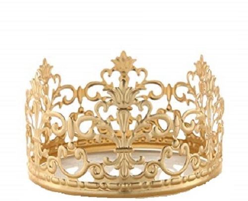 Princess Gold Crown Cake Topper Vintage Crown Small Gold Wedding Cake Top Walmart Com Walmart Com
