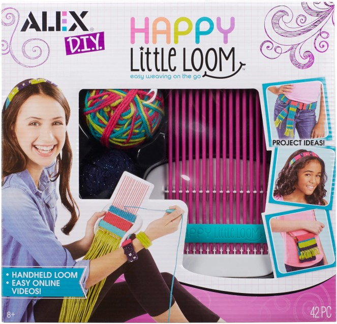 Alex Toys DIY Happy Little Loom Kit