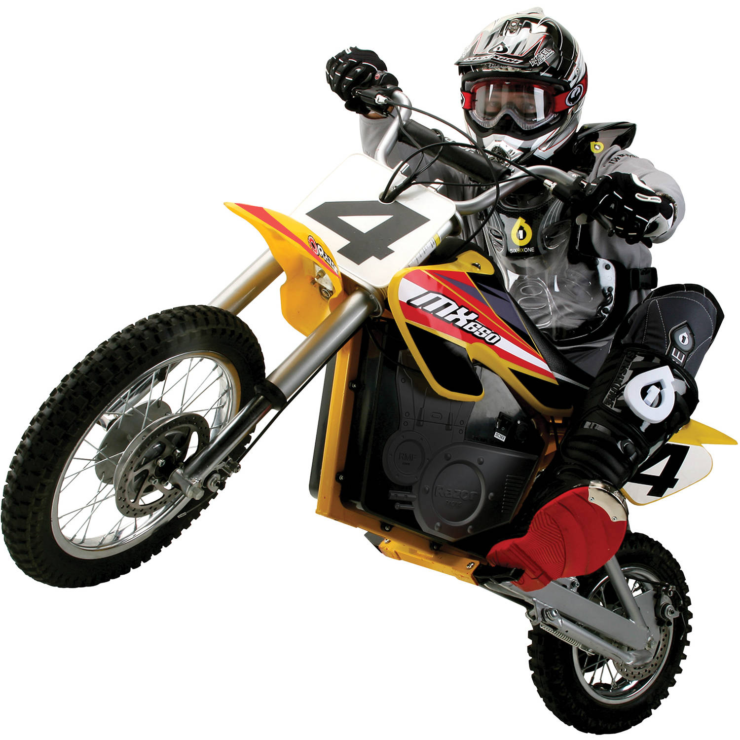hight resolution of razor 36 volt electric powered mx650 dirt rocket motocross off road bike for ages 16 and speeds up to 17 mph walmart com