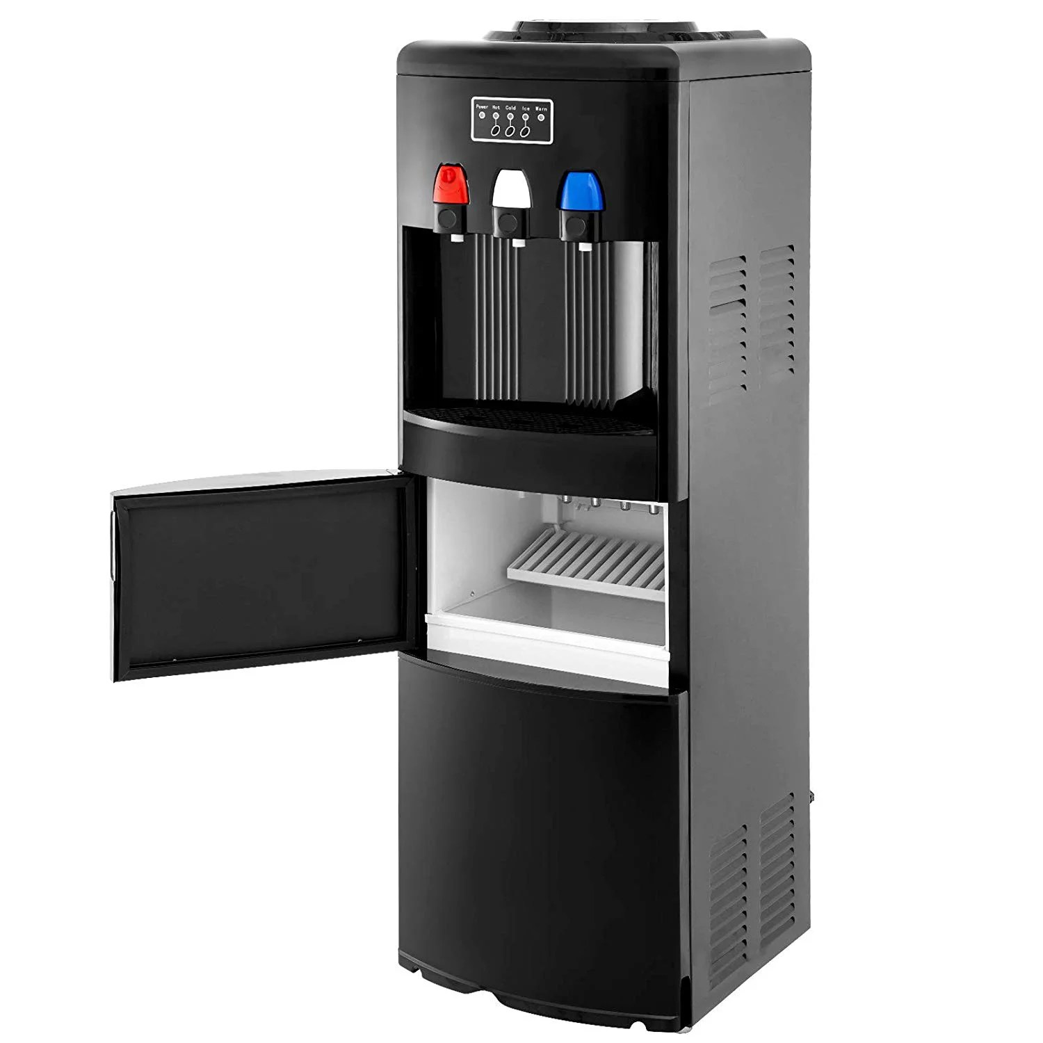 Electric Hot Cold Water Cooler Dispenser W Built In Ice