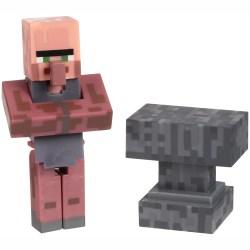Minecraft™ Series #2 Overworld Villager Blacksmith 2 pc Carded Pack Walmart com Walmart com