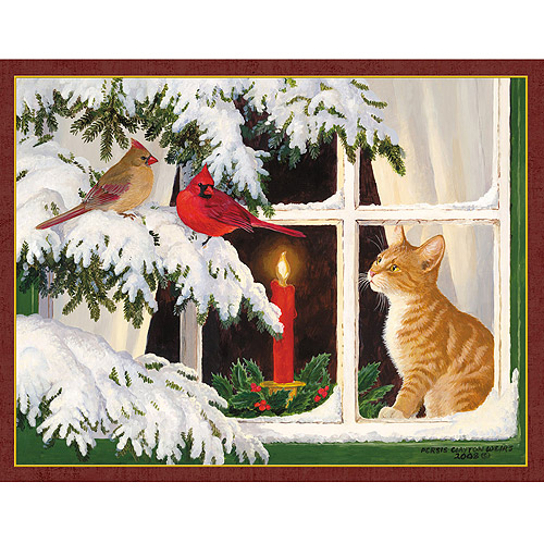Lang Kitten Christmas Assorted Christmas Cards