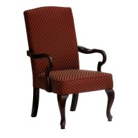 Hampton Upholstered Arm Chair - Walmart.com