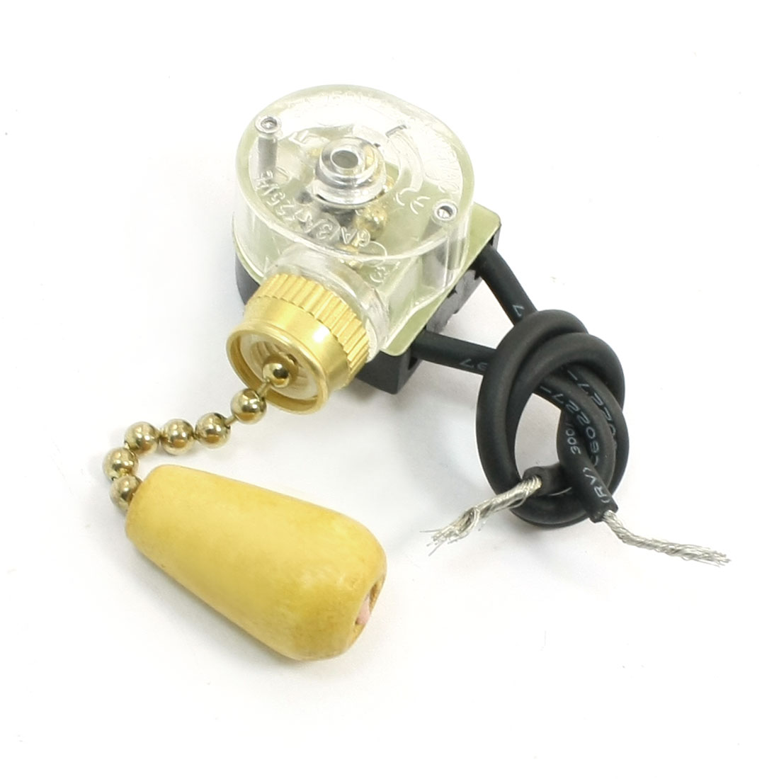 hight resolution of unique bargains 3a 250vac latching action ceiling fan two wires light pull chain switch