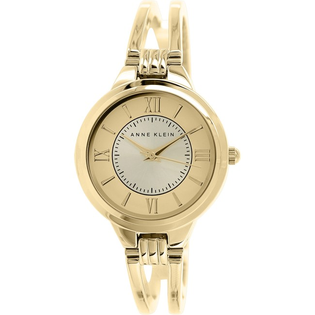 Anne Klein Women's AK-1440CHGB Gold Stainless-Steel Quartz Fashion Watch