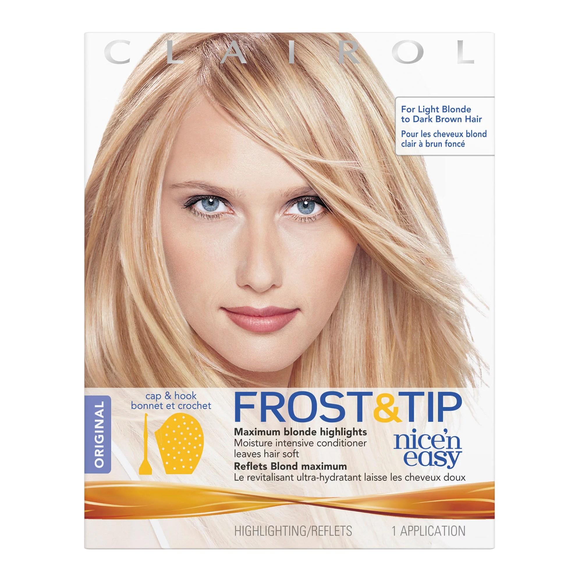 Clairol Nice n Easy Frost & Tip Original Hair Highlighting Kit