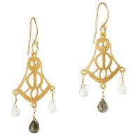 Women's Sterling Silver Double Hoop Earrings