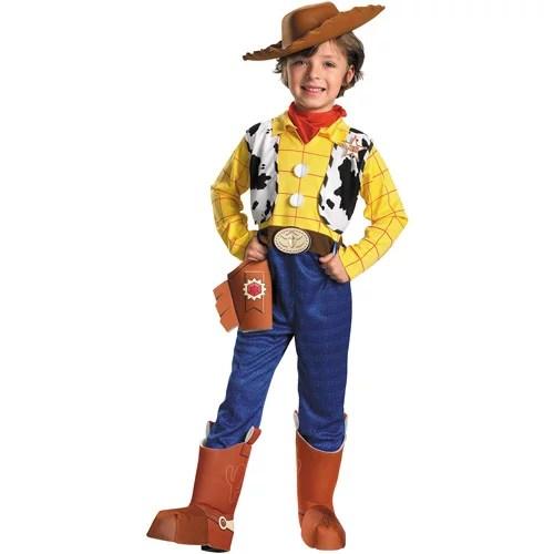 Toy Story Woody Deluxe Child Halloween Costume Walmart
