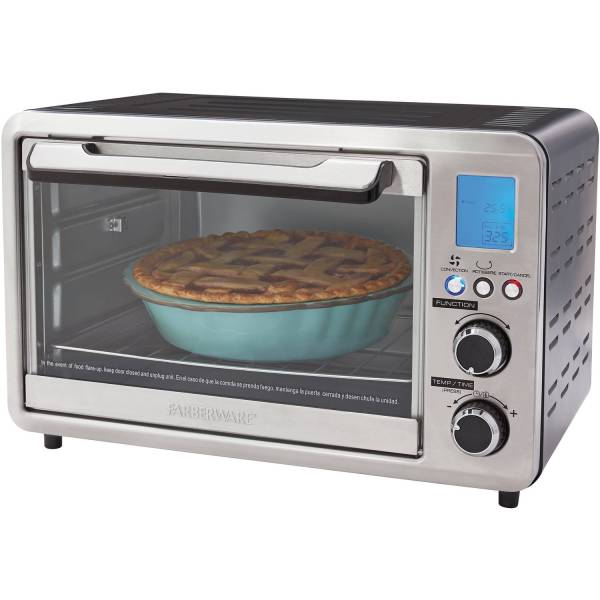 Digital Toaster Oven 25l Large Convection Cooking Kitchen