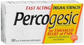 Percogesic Original 90 Ct Tablet - Walmart.com