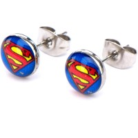 Superman Steel Stud Earrings - Walmart.com