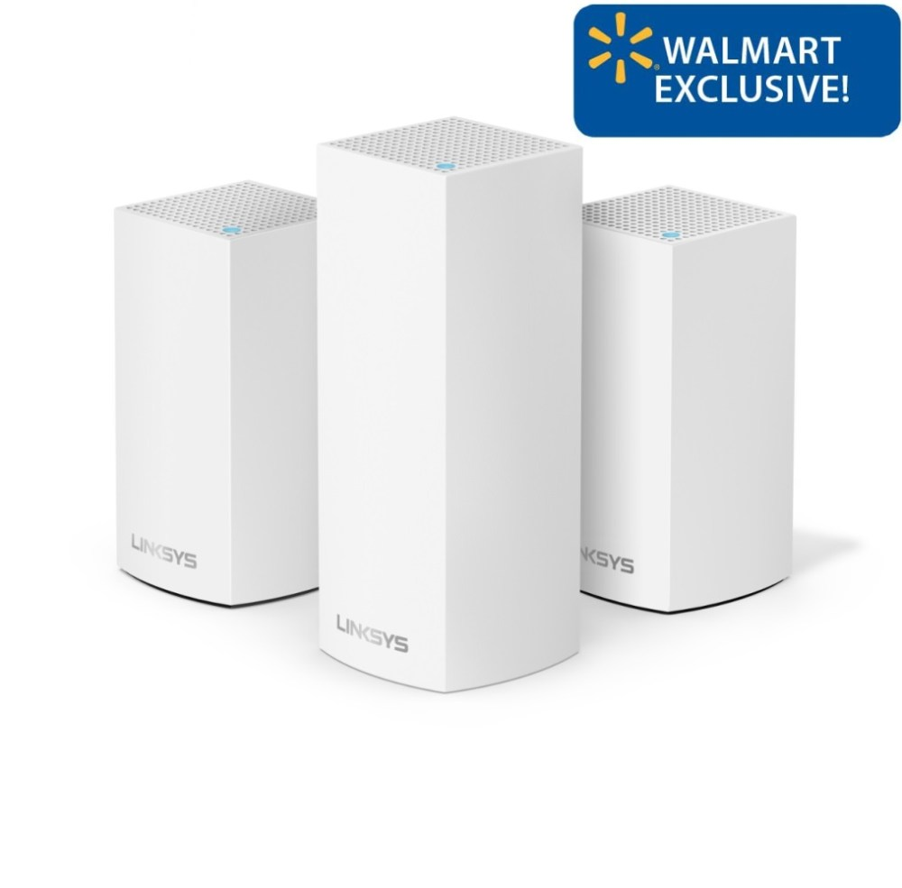 medium resolution of linksys velop triband ac4800 intelligent mesh wifi router replacement system 3 pack coverage up to 5 000 sq ft walmart exclusive walmart com