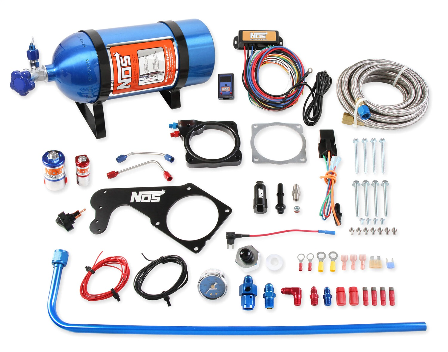 hight resolution of nos 05184nos complete nitrous system 250 rwhp max incl nitrousnos 05184nos complete nitrous system