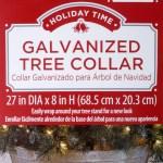 Holiday Time Galvanized Christmas Tree Collar Walmart Com Walmart Com