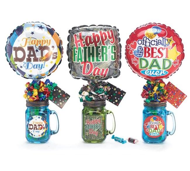 Happy Fathers Day Mason Jar Gift Set