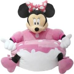 Minnie Mouse Bean Bag Chair Graco Simple Switch High Disney Figural Walmart Com