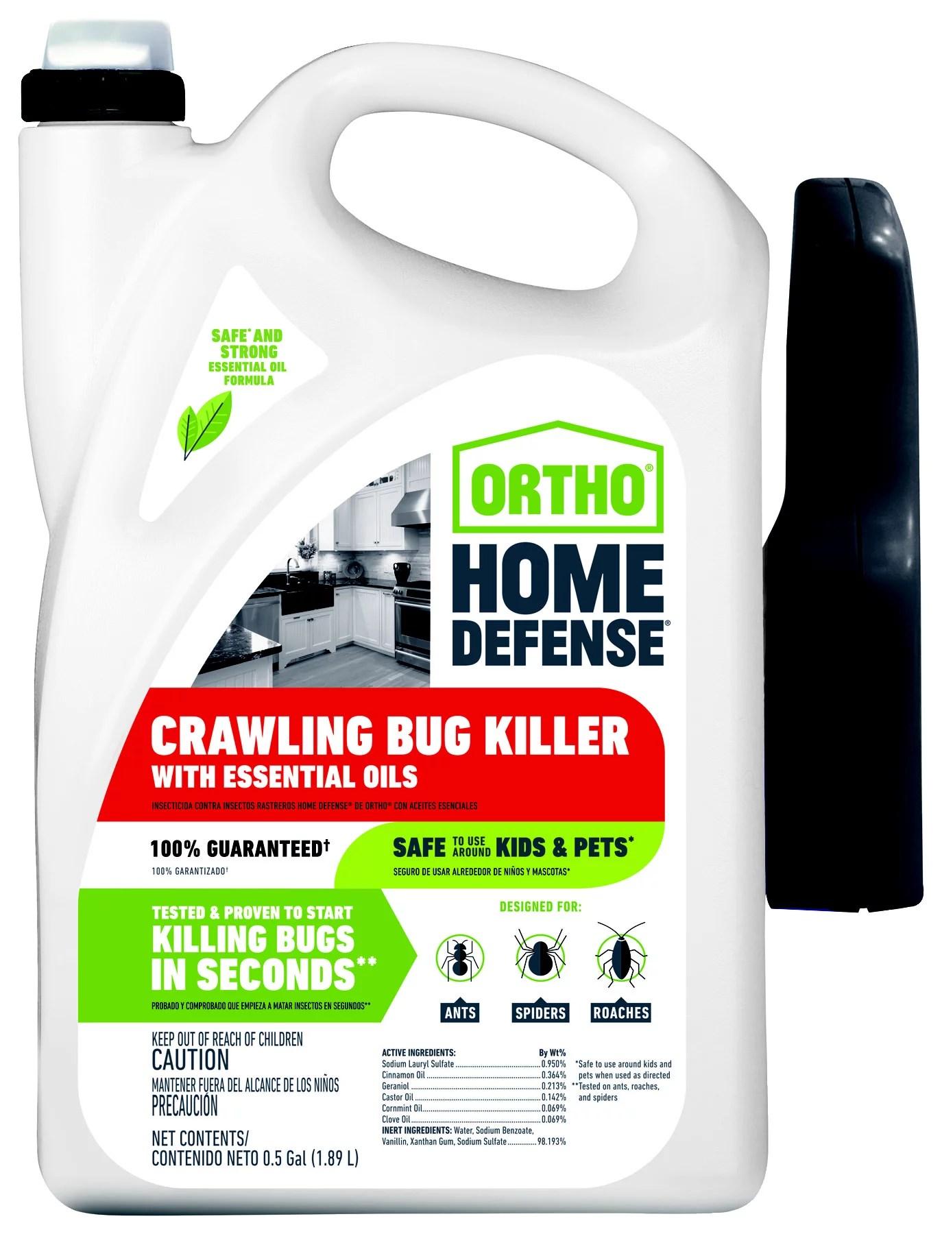Ortho Home Defense Label : ortho, defense, label, Ortho, Defense, Crawling, Killer, Essential, Walmart.com