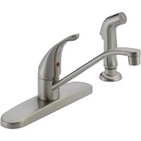 Peerless Single-Handle Side-Spray Kitchen Faucet ...