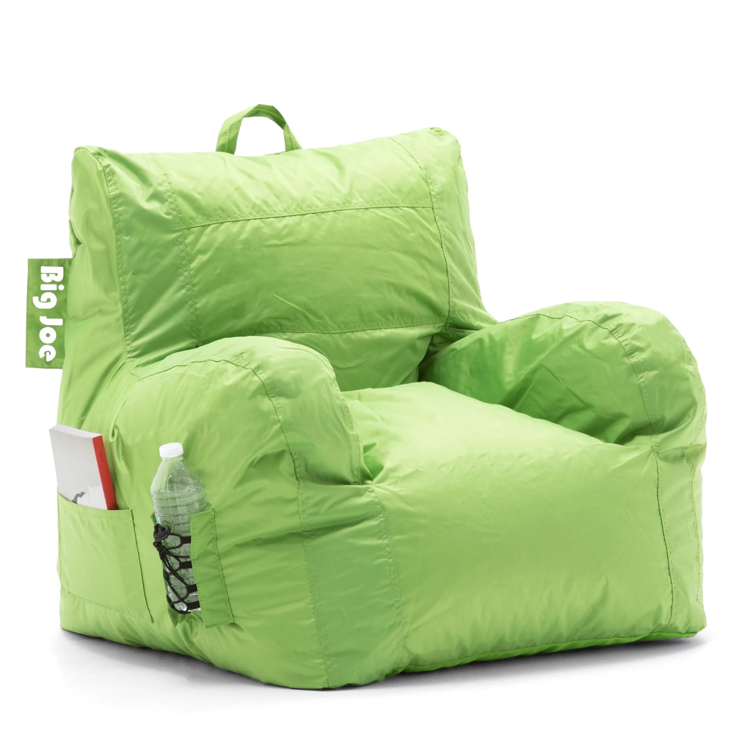 big joe bean bag chair multiple colors 33 x 32 25 installing beadboard with rail walmart com