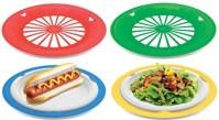 KOVOT Set of 16 Plastic Reusable Paper Plate Holders For 9 ...