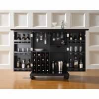 Crosley Furniture Cambridge Expandable Bar Cabinet ...