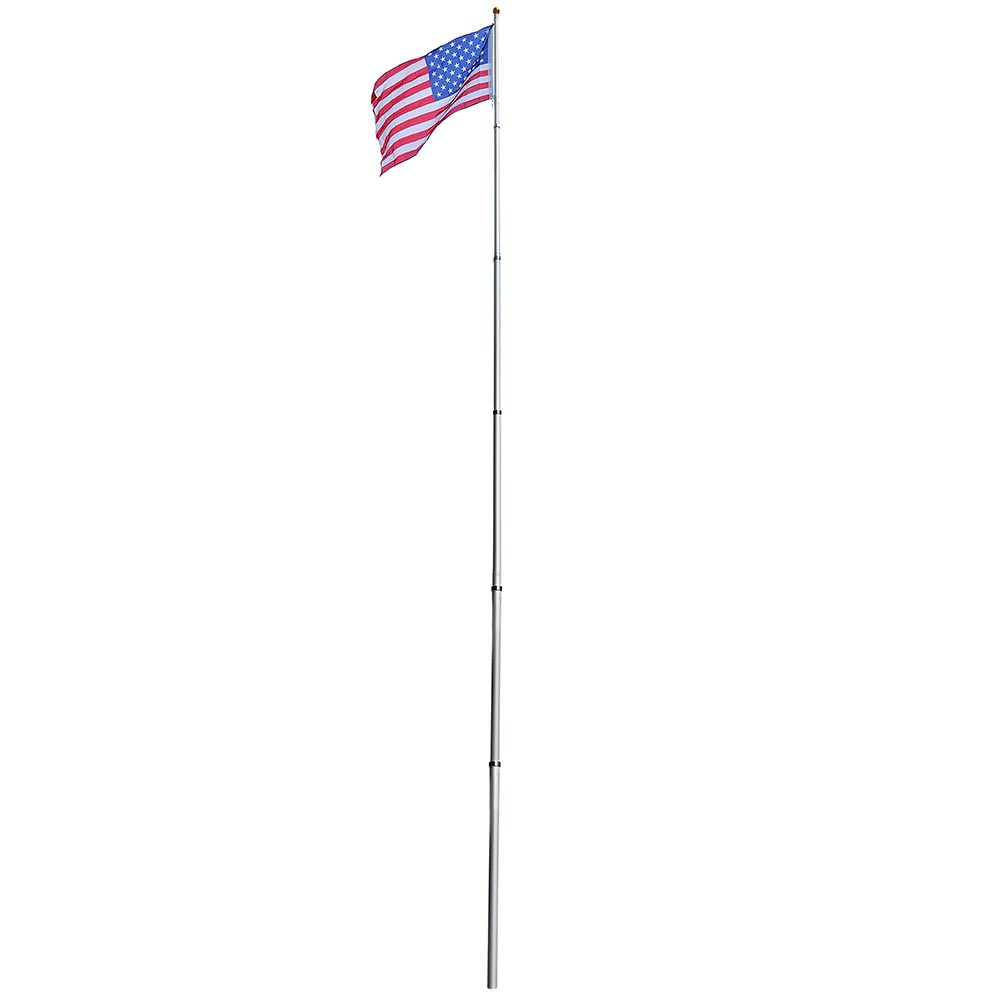 How To Make A Wooden Flag Pole Stand