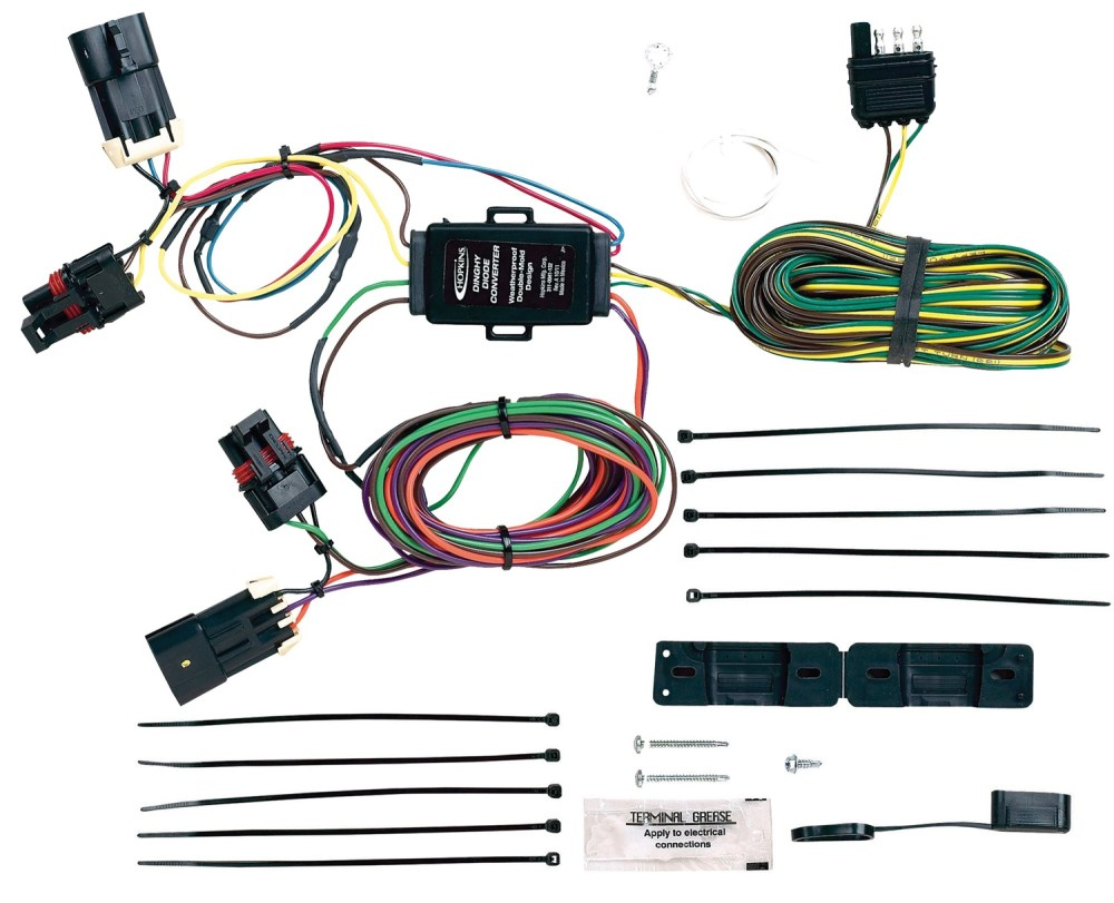 medium resolution of hopkins towing solution 56100 plug in simple vehicle to trailer wiring harness walmart com