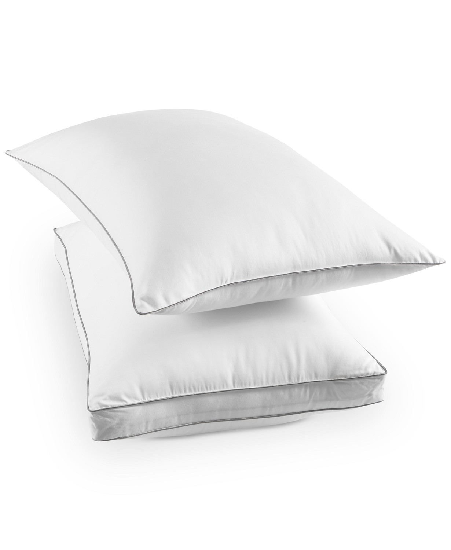 martha stewart collection dream science memorelle memory foam alternative pillow standard white