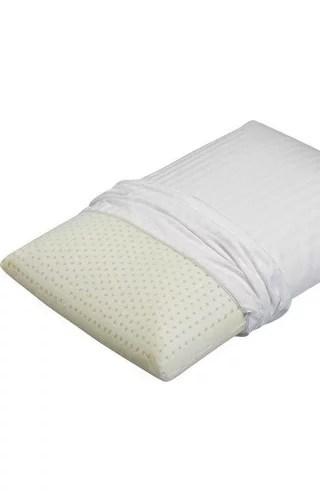 hollander us smart latex foam pillow white size king