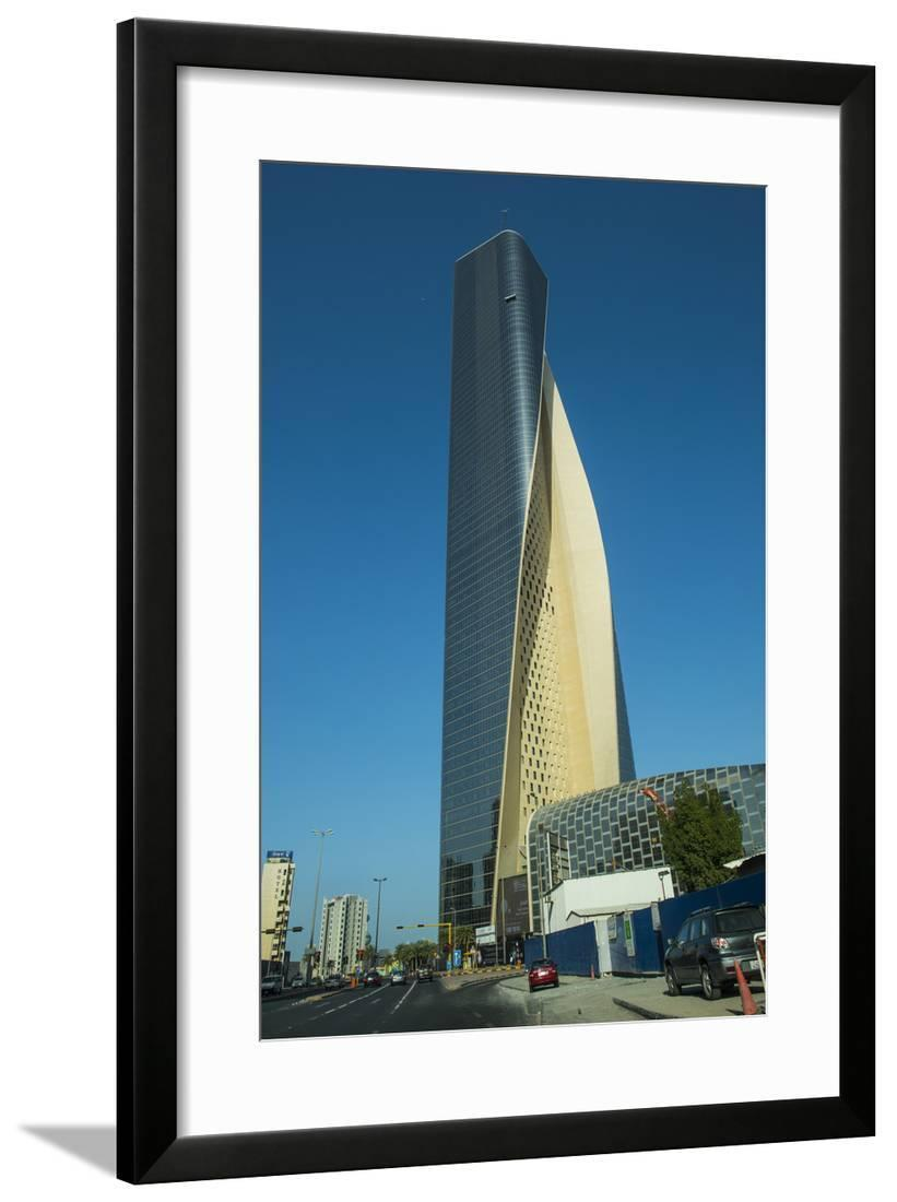 Al Hamra Tower In Kuwait City Kuwait Middle East Framed