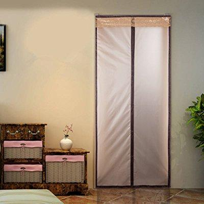 Magnetic Thermal Insulated Door Curtain Enjoy Your Cool Summer And Warm Winter With Saving You