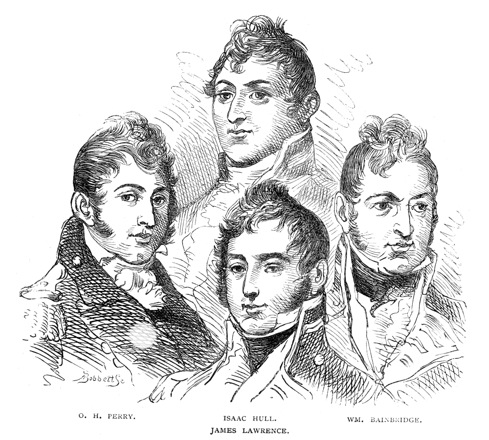 War Of 1812 Officers Nportraits Of American Officers Who