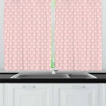 Adventure Nursery Curtains 2 Panels Set Lullaby Time Travel Concept Rising Pinkish Hot Air Balloons Window Drapes For Living Room Bedroom 55w X 39l Inches Rose Blush And White By Ambesonne