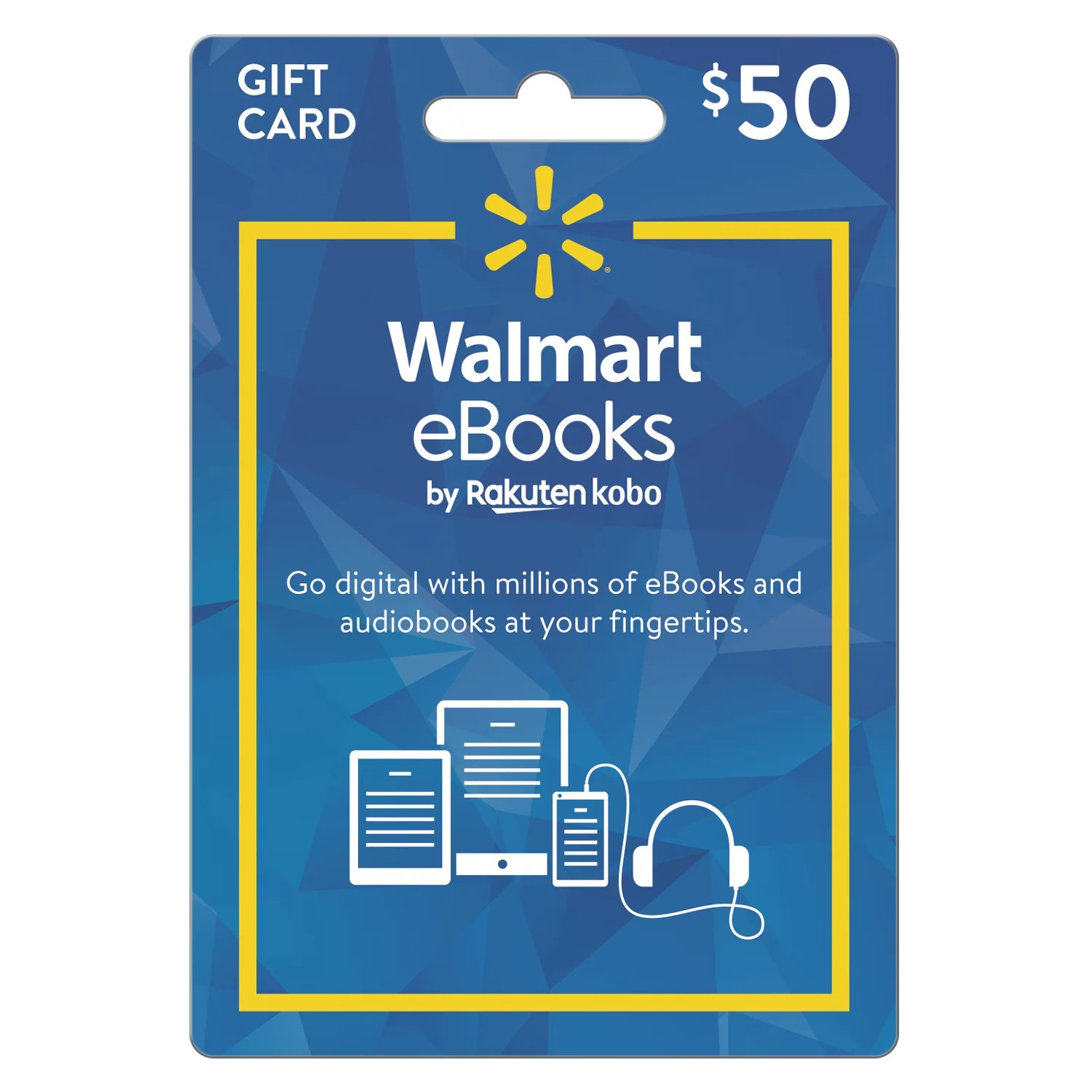 Walmart eBooks eGift Card  (email delivery)