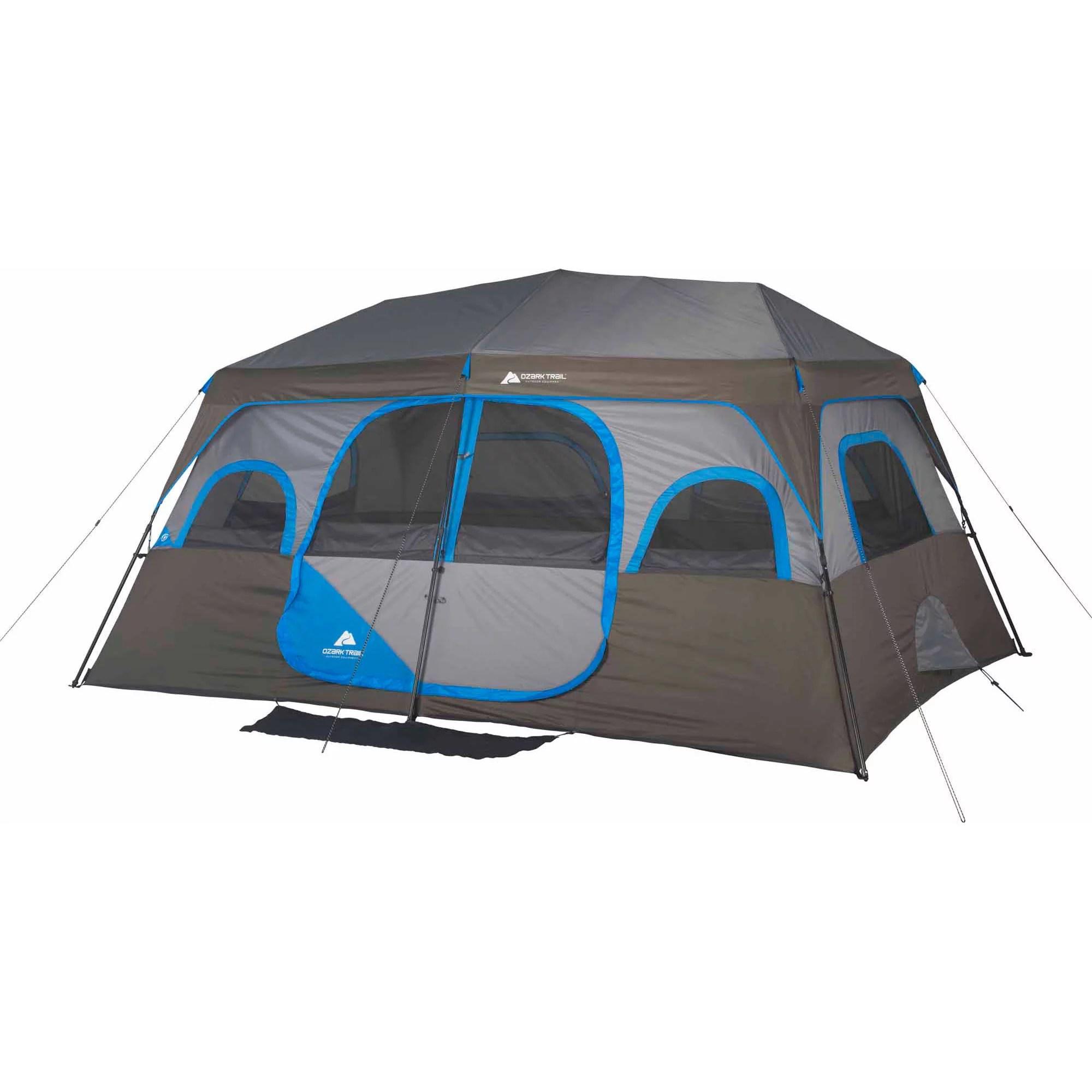 Ozark Trail 10 Person 2 Room Instant Cabin Tent