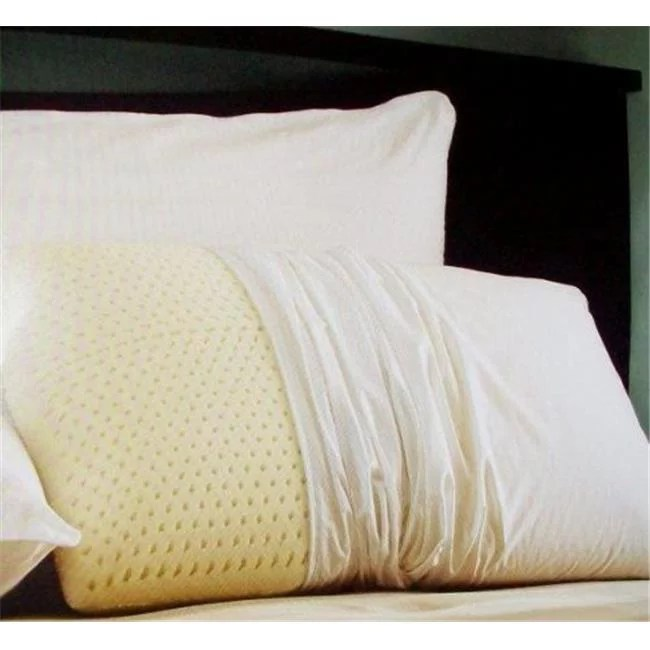 living health products 00063 qty 2 natural latex foam pillow set of 2 pillows king
