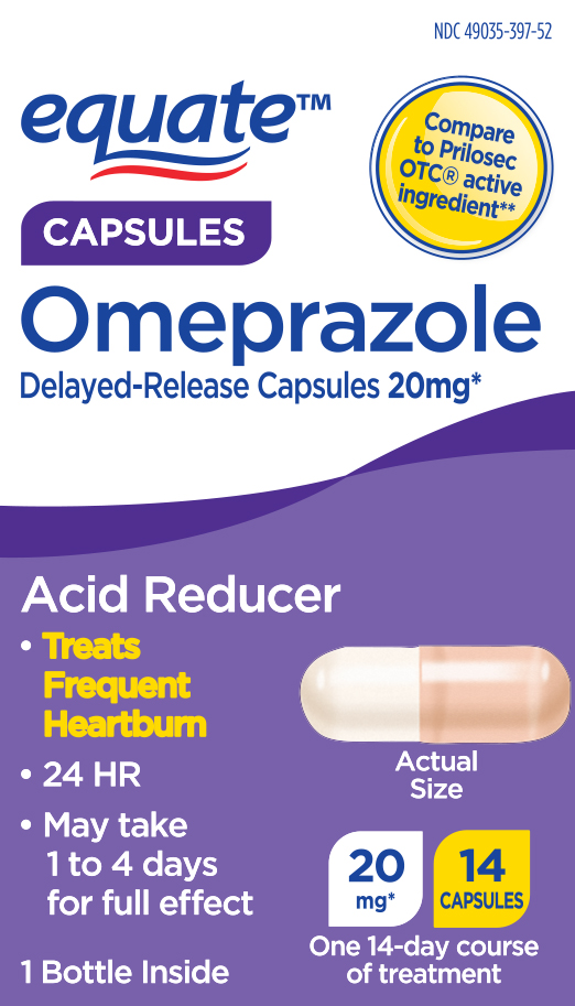 Equate Omeprazole 14-Day Course Delayed-Release Acid ...