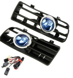 12v led bumper grille fog light daytime running lamp driving running drl foglight turn signal indicator white angel eye wiring harness on off switch for  [ 1200 x 1200 Pixel ]