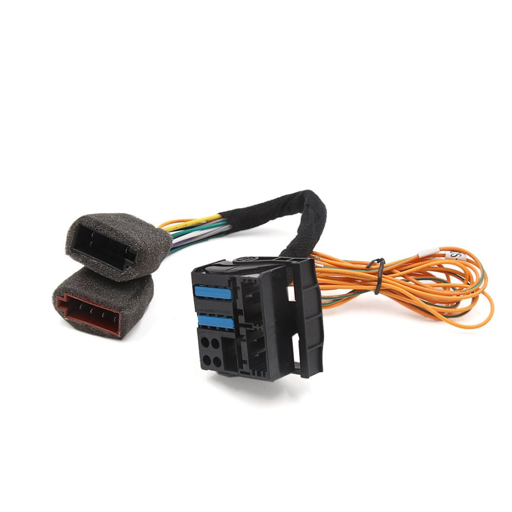 medium resolution of auto car rcd 510 radio stereo cd player wiring harness connector for volkswagen walmart com