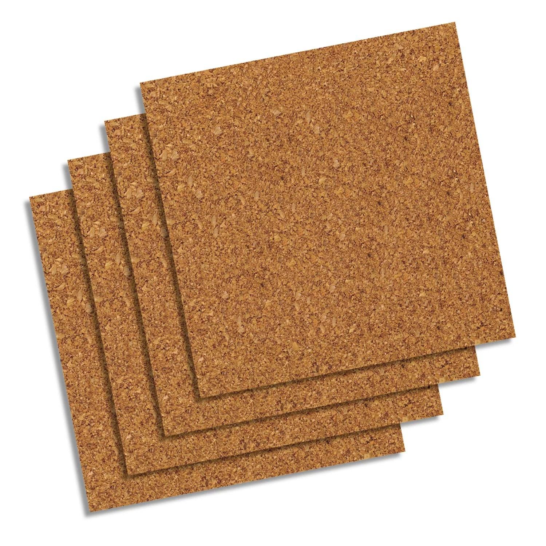 quartet natural cork tiles 12 x 12 frameless 4 count 102w b walmart com