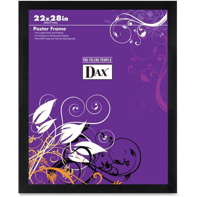 dax dax286322x 22 x 28 in square poster frame black