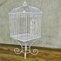 Wire Bird Cage Wedding Card Holder, Removable Stand ...
