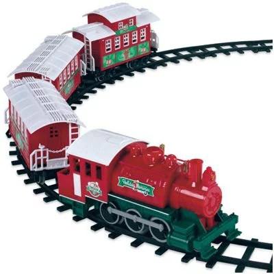 Lionel 933024 Christmas Train Set 4Pc Walmartcom