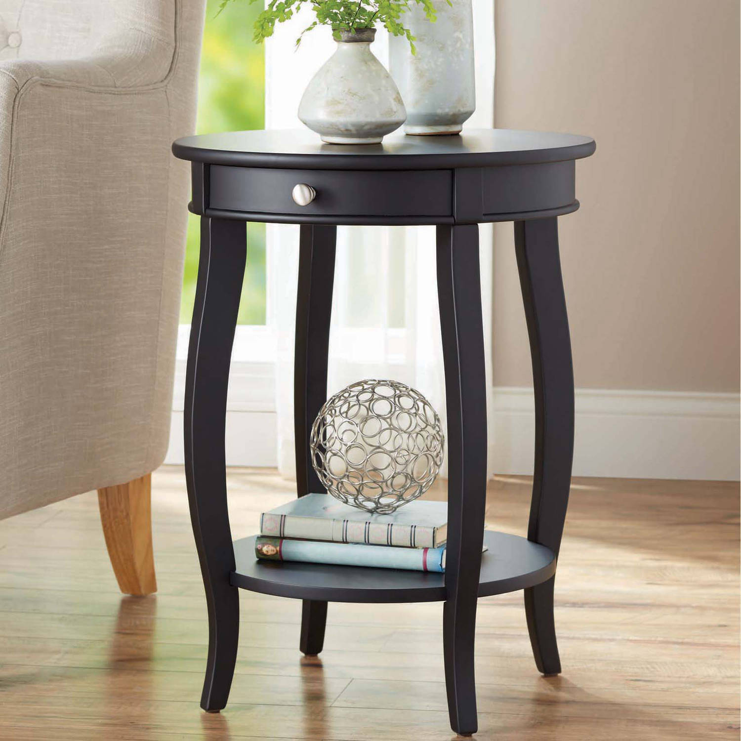 small end tables for living room canada images of rooms with fireplace better homes gardens round accent table drawer multiple colors walmart com