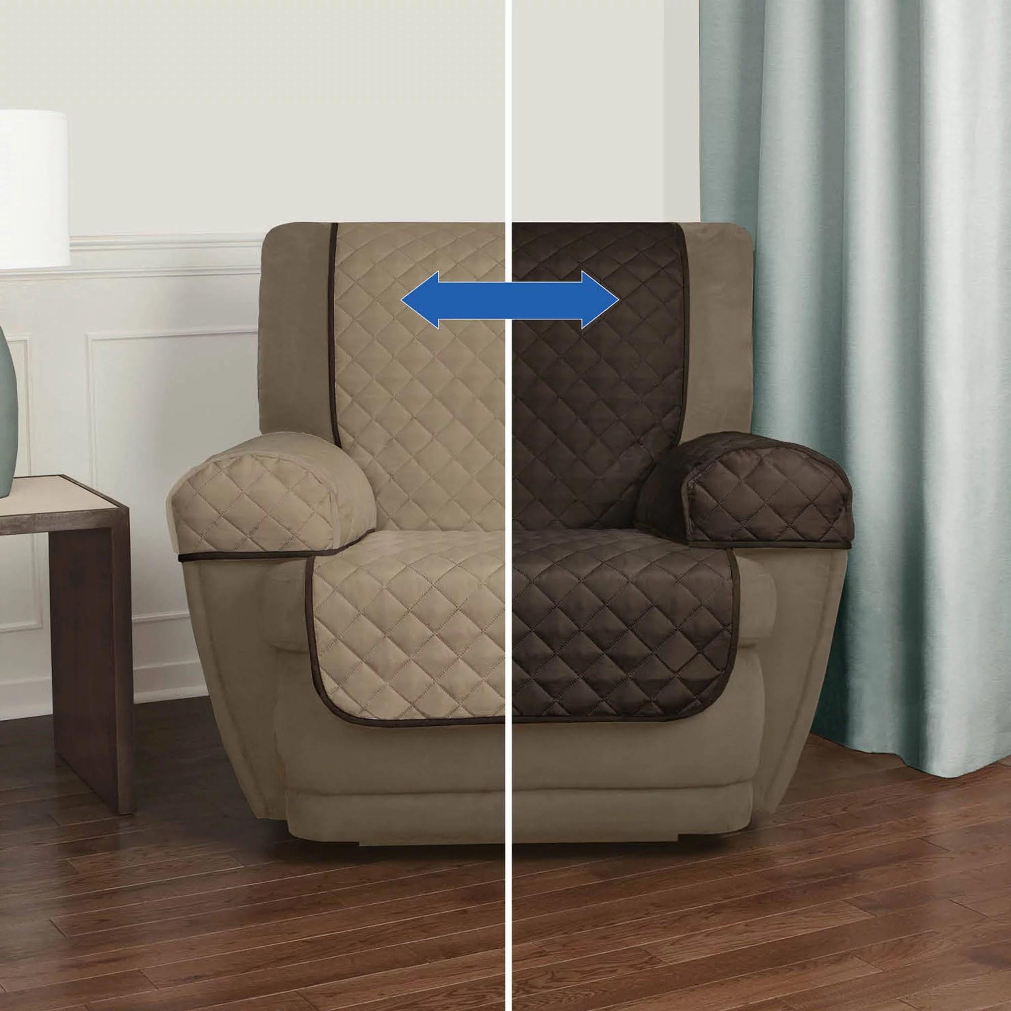 NEW Mainstays Reversible Microfiber Fabric Pet  Furniture