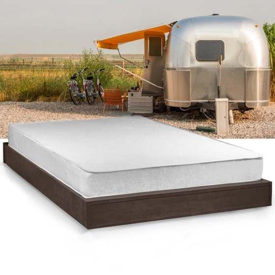 Select Luxury Home Rv 8 Inch Full Short Size Memory Foam Mattress