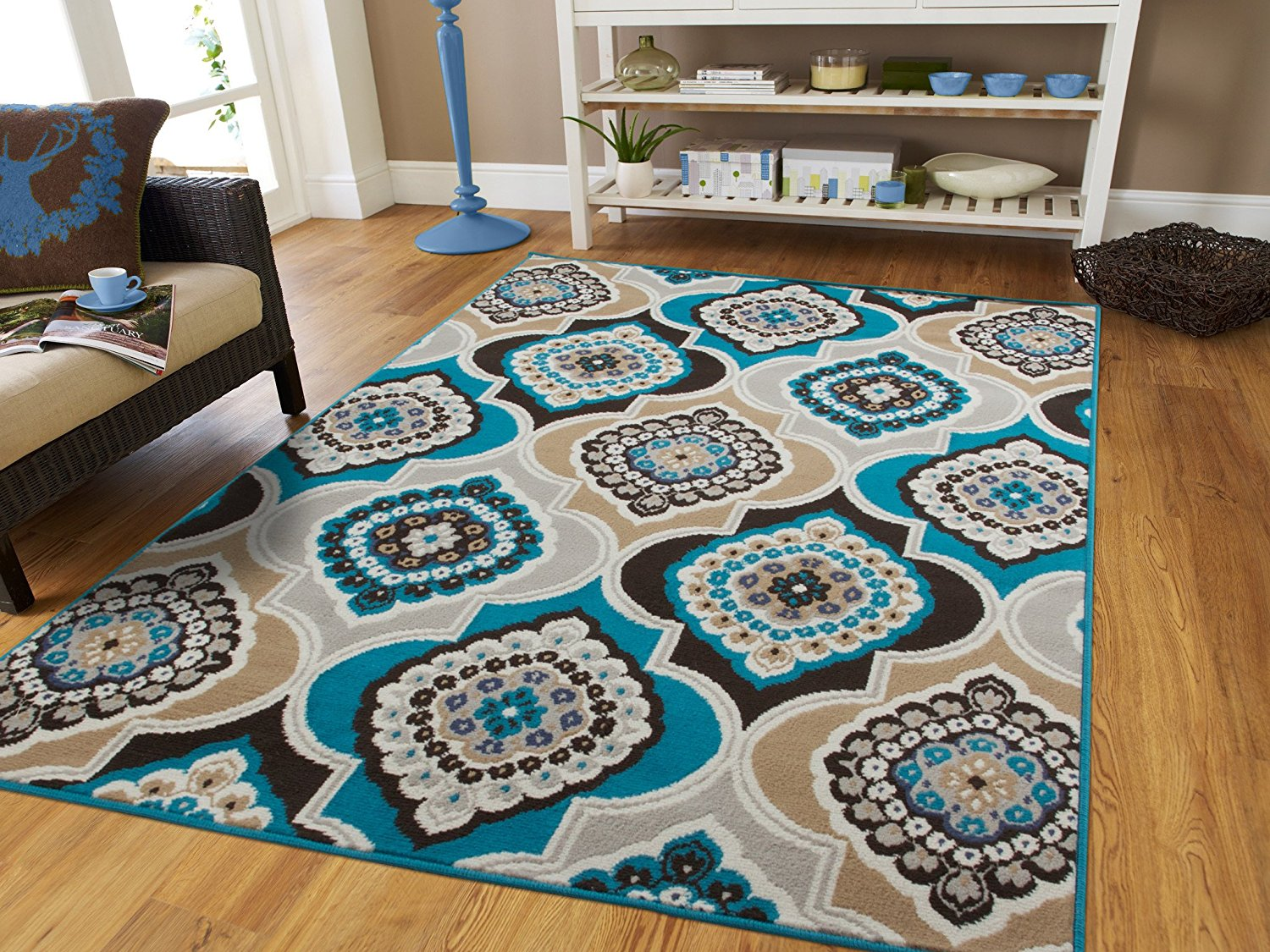 Ctemporary Area Rugs Blue 5x8 Area Rugs5x7 Blue Gray Rugs For Living Room Cheap Bedroom Office Rug 5x7 Modern Area Rug Under 50 00blue Walmart Com Walmart Com